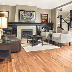 Mirage Hard Wood Flooring - Mirage American Walnut. Fresh hues and subtle shading create a visual appeal that is unique in this beautiful walnut.