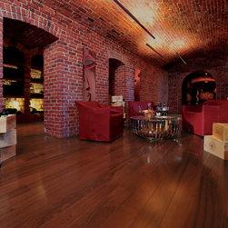 Mirage Hard Wood Flooring - Mirage African Mahogany Terracotta. Burnt earth. Native elegance. Rich tones