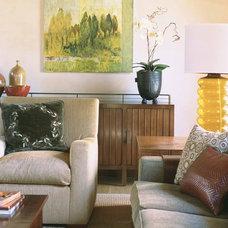 Modern Living Room by mark cutler