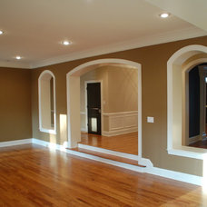 Traditional Living Room by McMillan Builders