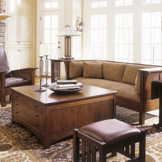 Craftsman Living Room by Stickley Furniture