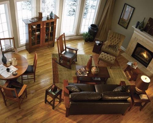 Best stickley furniture design ideas remodel pictures for Craftsman living room ideas