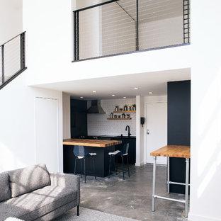 Mission District Loft Renovation -- Open Loft Living
