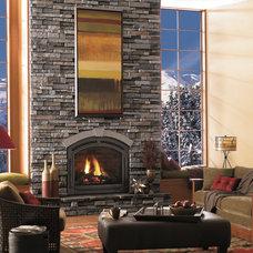 Contemporary Living Room by Merkley Supply