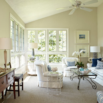 Mixing Modern with Traditional: Rowayton Home
