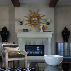Contemporary Living Room by MJ Lanphier