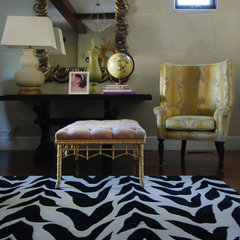 eclectic living room by MJ Lanphier