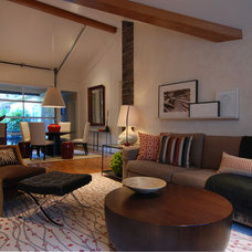 Modern Living Room by MJ Lanphier