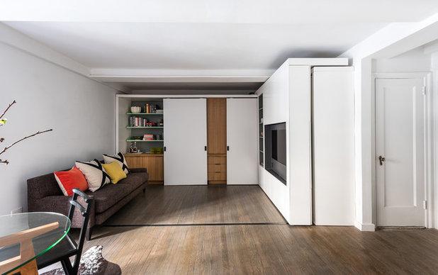 Minimalistisch Wohnbereich By Michael K Chen Architecture