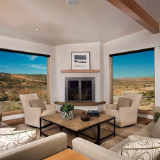 Contemporary Living Room by Karen White Interior Design