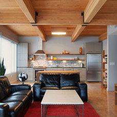 Contemporary Living Room by Olson & Jones