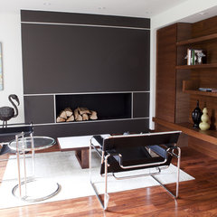 modern living room by Capoferro Design Build Group