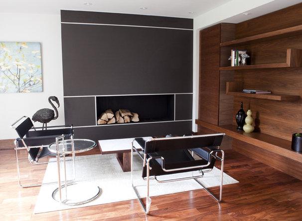 Contemporary Living Room by Capoferro Design Build Group