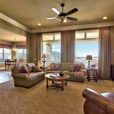 Traditional Living Room by Interior design concepts