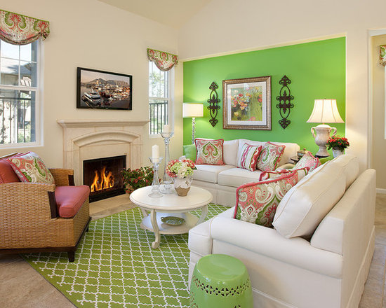 Living Room Model model home living room | houzz