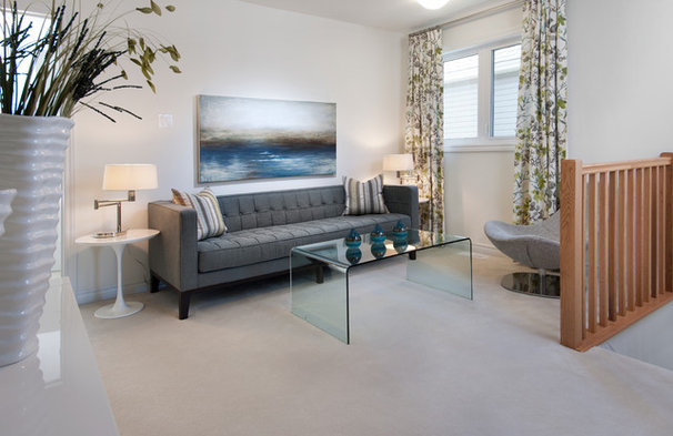 Contemporary Living Room by Tartan Homes