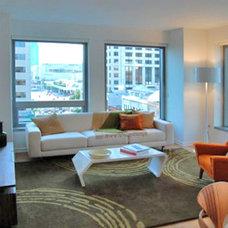 Modern Living Room by W. David Seidel, AIA - Architect