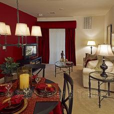 Contemporary Living Room by Peter Treiber