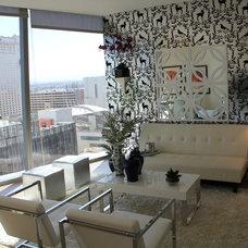 Contemporary Living Room by Pedini of Atlanta, llc