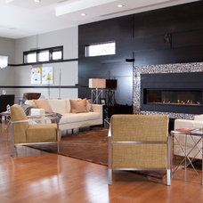 Contemporary Living Room by Lindner Bros Developments Ltd