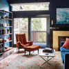 Room of the Day: Dramatic Redesign Brings Intimacy to a Large Room