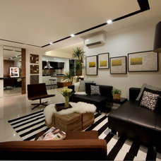 Modern Living Room by Max T