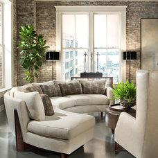Modern Living Room by Thayer Coggin