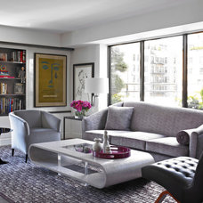 Contemporary Living Room by Michel Arnaud