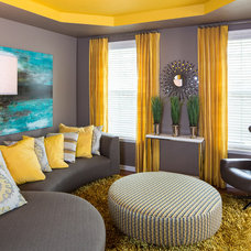 Contemporary Living Room by Drapery Street