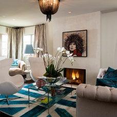 Modern Living Room by Jennifer Welch Designs