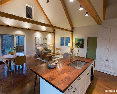 Budget Country Living Room Design Ideas Renovations Photos