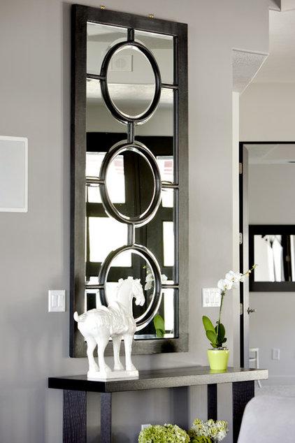 Modern Living Room by Caitlin Wilson