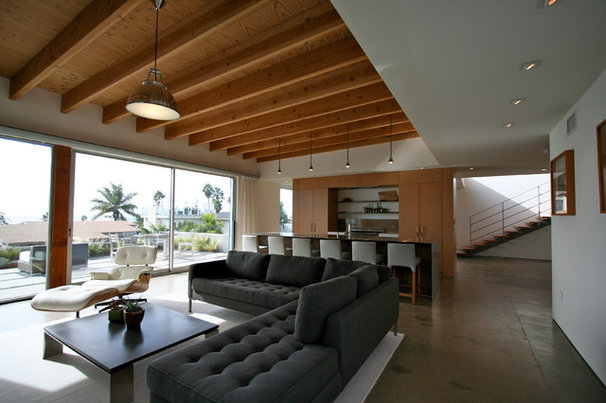 Modern Living Room by The Brown Studio