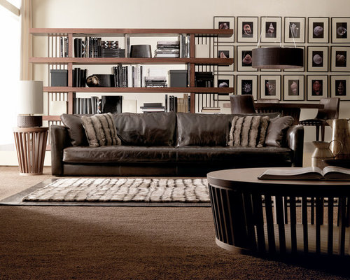 Trendy living room photo in New York. Luxury Contemporary Furniture   Houzz