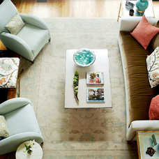 Contemporary Living Room by Kara Cox Interiors
