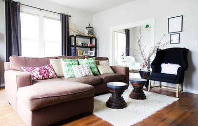Room of the Day: Living Room Does a Vintage-Meets-Modern Balancing Act