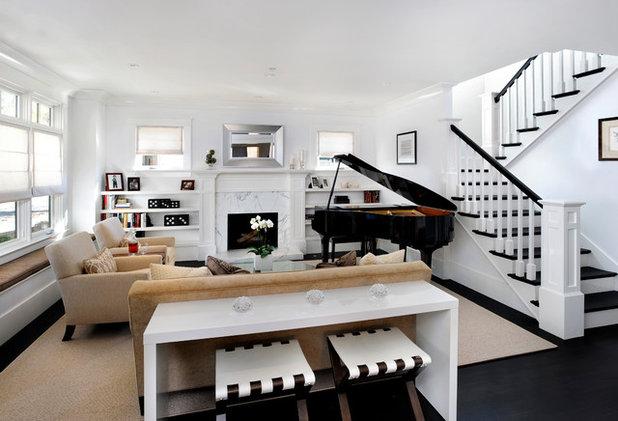 Contemporary Living Room by Sullivan Design Studio