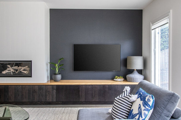 Contemporary Living Room by Nimmo Nielsen Collective
