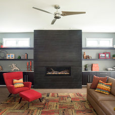 Modern Living Room by Kristin Petro Interiors, Inc.