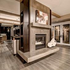 Contemporary Living Room by Aneka Interiors Inc.