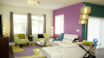 Modern Colorful Bright Home for Family