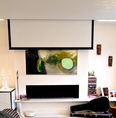 Scandinavian Living Room by Kia Designs