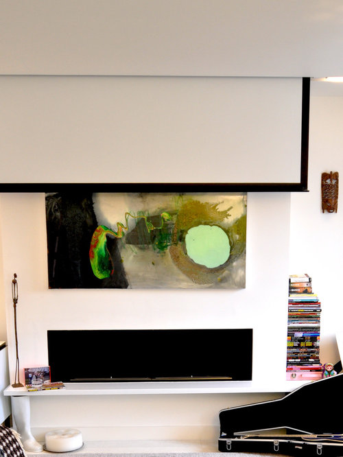 Projector Screen Ideas Pictures Remodel And Decor