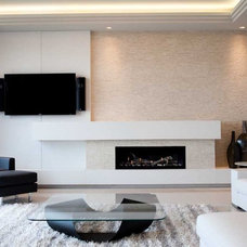 Modern Living Room by Dekko Concrete Decor