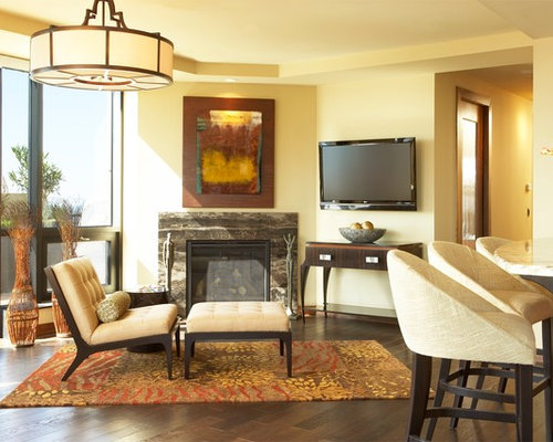 Multiple focal points ideas pictures remodel and decor for Living room focal point ideas