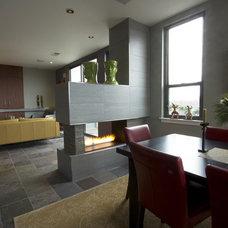 Modern Living Room by Braitman Design Studio