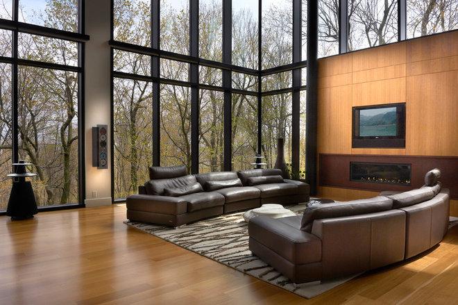 Modern Living Room by Proscenium Design