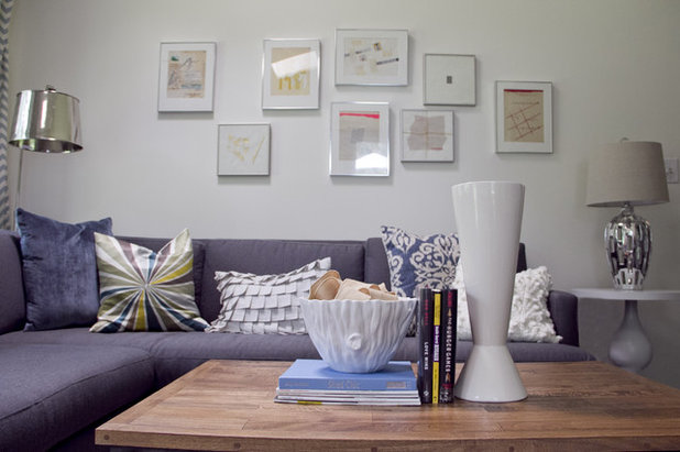 Modern Living Room by Julie Holloway