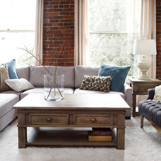Traditional Living Room by Urban Barn