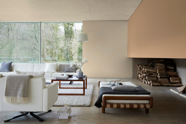 Contemporary Living Room by Dulux Amazing Space